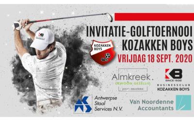 18 september – Kozakken Boys Business Golftoernooi