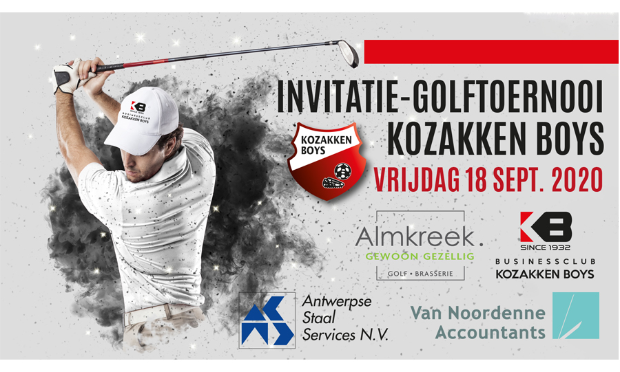 18 september – Kozakken Boys Business Golftoernooi
