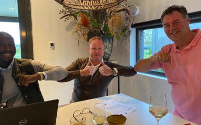 Buro van den Dool, Zilver en Led Board Sponsor!